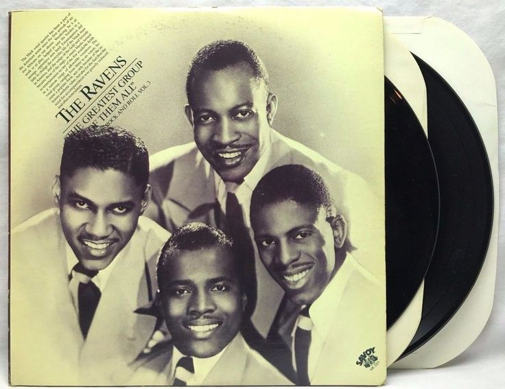 """The Ravens """"The Greatest Group Of Them All"""" Vinyl Record LP Album stores.ebay.com/capcollectibles"""