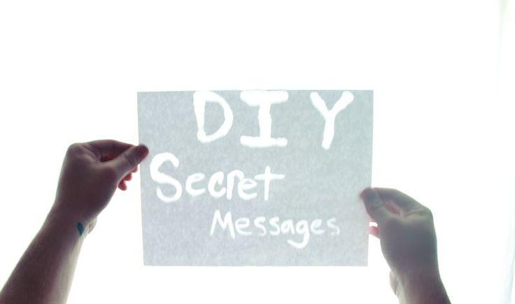 Great Craft Project For Kids Create Super Secret Messages
