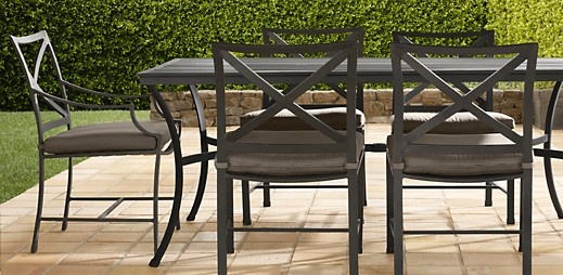 17 best images about outdoor living on pinterest dining for Restoration hardware outdoor dining