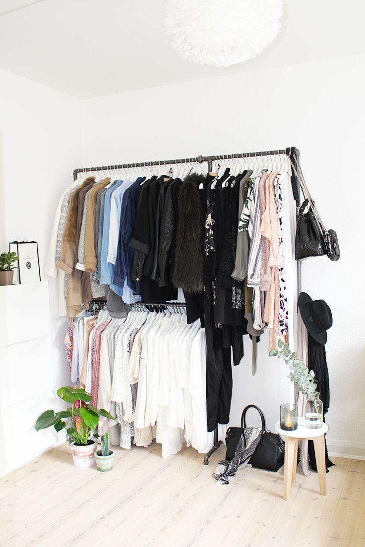 ORGANIZE your wardrobe tips diy Rackbuddy clean out shoppe-strategi ryd op i garderoben tips til en bedre garderobe klædeskab blogger Amy Dyrholm IKEA tips