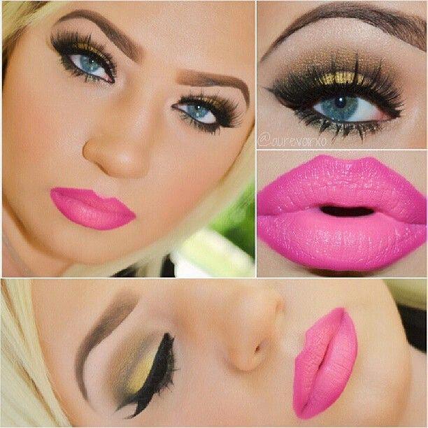 pink lip stik