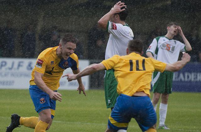 Foto de mcmillant75 in Flickr.  Bognor Regis Town.Vs.AFC Sudbury. 15/10/2016  Ryman Premier League. Nyewood Lane, Bognor Regis.