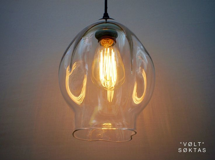 Glass Pendant Lighting Designed and Handblown by Oliver Höglund Shop Online Now: www.soktas.co
