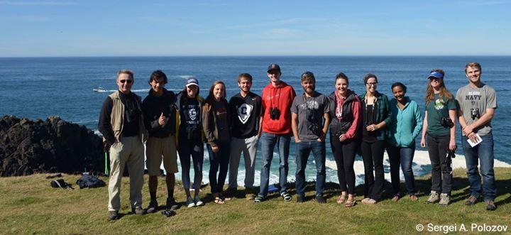 BIO-421 Marine Biology is back safe and sound. Respect to all participants for interest and dedication!  Заключительная общая фотография на память.