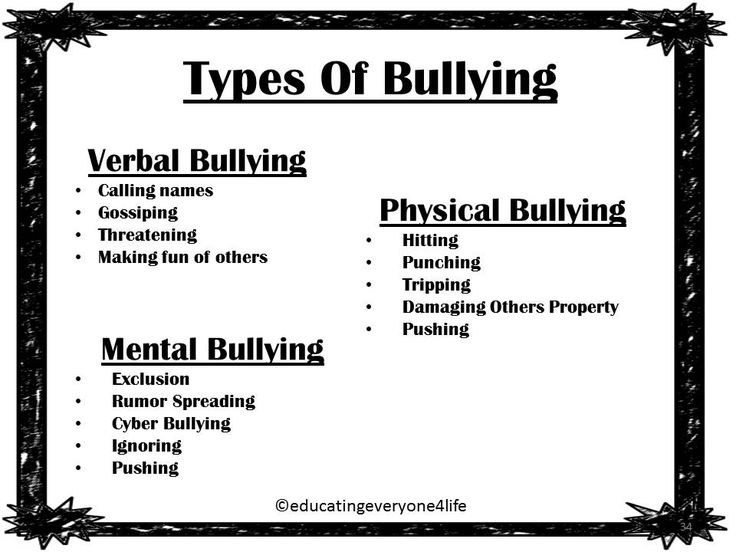 Anti-Bullying: October Is Bully Prevention Month