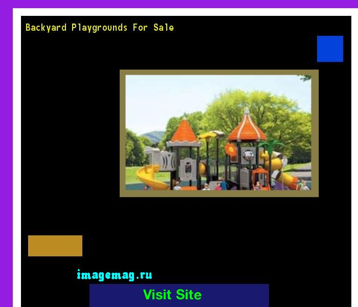 Backyard Playgrounds For Sale 211958 - The Best Image Search