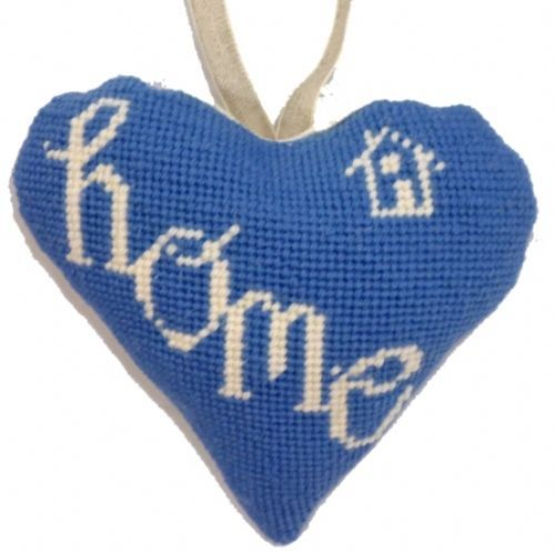Home Lavender Heart Tapestry