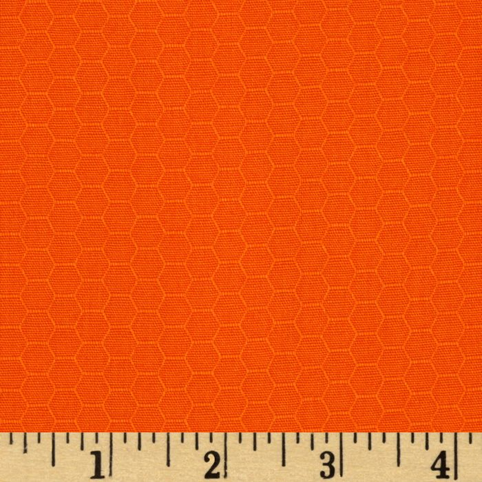 Kona Dimensions Honeycomb Tangerine Fabric