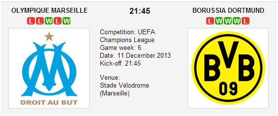 Marseille vs Borussia Dortmund - Champions League Preview #Soccerbettingtips #bettingtips #ChampionsLeague #betting #predictions #Marseille #BorussiaDortmund #previews - See more at: http://www.betxpert.co.uk/betting-previews
