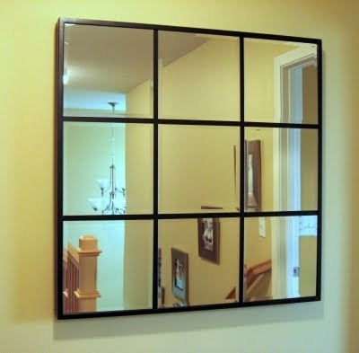 I will be doing this...need that TV Niche covered up!Barns Knock Off, Dreams Home, Starters Home, Diy Mirrors, Looks Alike, Diy 60, 60 Pottery, Pottery Barns, Mirrors Mirrors