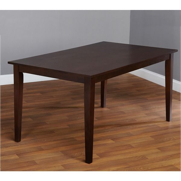 Simple Living Havana Carson Large Dining Table | Overstock.com Shopping - The Best Deals on Dining Tables $180 32''x59''