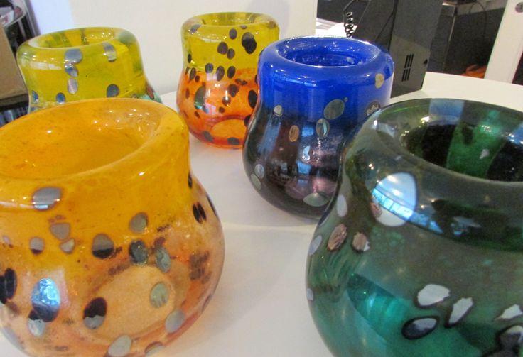 Nanny Still McKinney for Rosenthal * art glass candle sticks - available from allmodern on ebay