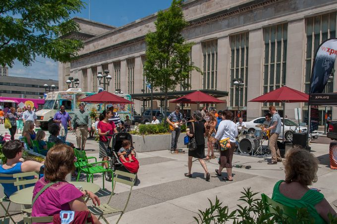 The Porch At 30th Street Station Presents Food Trucks And A Ton Of Open-Air Programming All April Long