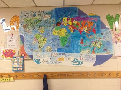 Project Based Learning for third grade! Love the this geography/social studies lesson that the kids get more from because they are the ones doing the teaching and learning!