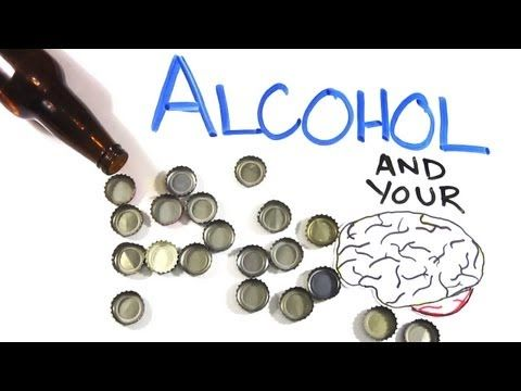 your brain on alcohol!  now you're smarter :)