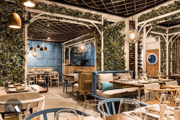 This is a seafood restaurant named Pescada, based in Timisoara/ Romania. Design done by Mario Stoica Studio
