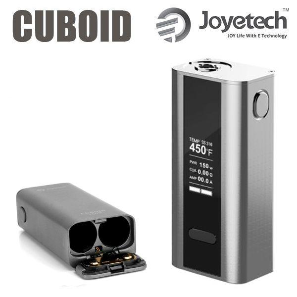 Nou ! Joyetech CUBOID 200W / 2 x 18650 http://www.mahoarca.ro/moduri-electronice.html/joyetech-cuboid Cuboid 150W Joyetech reprezinta unul dintre cele mai compacte moduri disponibile pe piata, ce functioneaza cu doi acumulatori tip 18650.