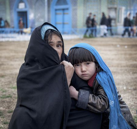 Woman and her daughter Photo by bahareh mohamadian -- National Geographic Your Shot