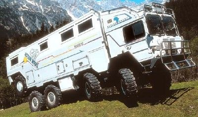 Ultimate Survival / Camping Vehicle