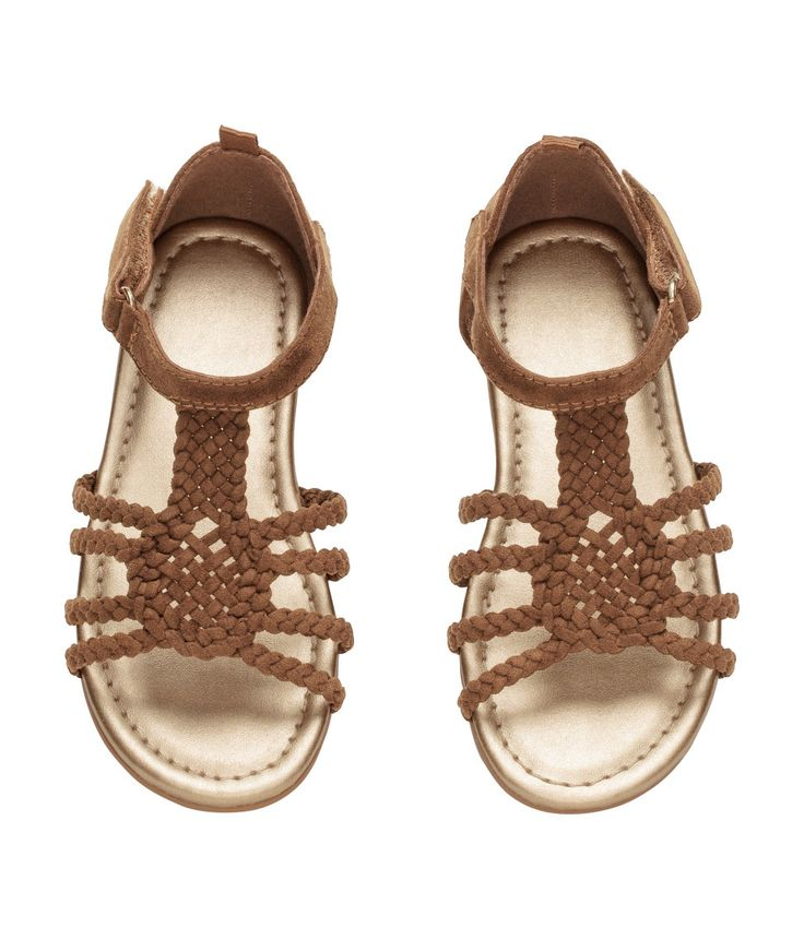 Braided strapped sandals | H&M Kids