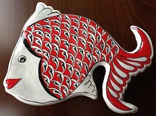 Ceramic fish!