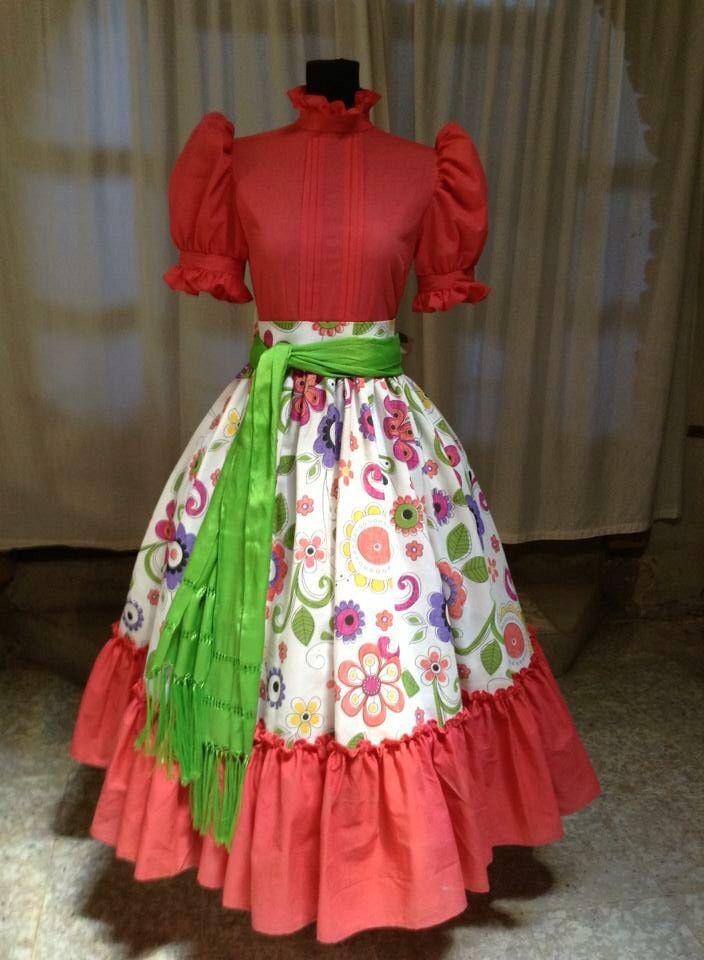 Vestido de Escaramuza Charra Diseñadora Anel Granados Flores Posted By Aide Granados Flores