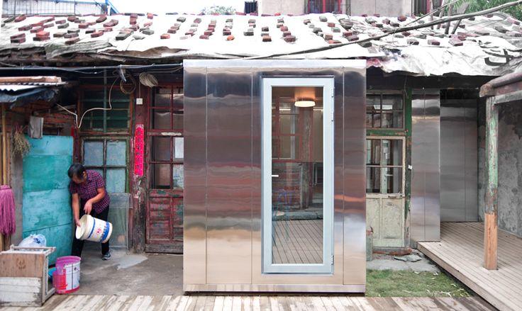 studio di architettura popolare inserisce casa modulare all'interno di Pechino