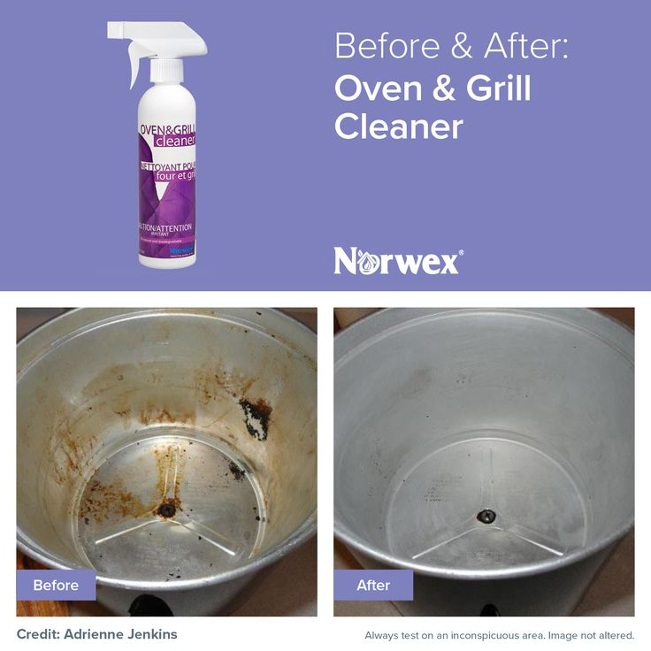 how to clean up grill