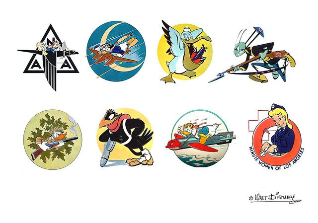 WWII ... Disney mascots | Flickr - Photo Sharing!