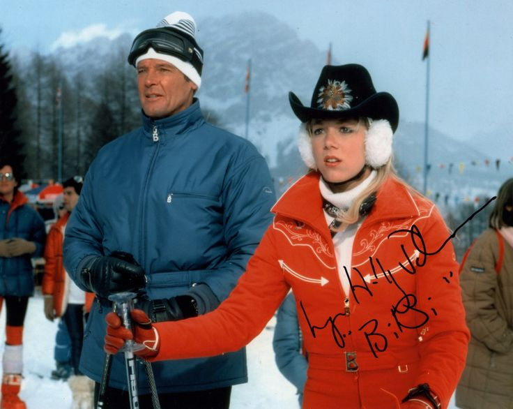 NICE SHOT OF LYNN HOLLY JOHNSON AS BIBI DAHL FROM THE 1981 JAMES BOND FILM FOR YOUR EYES ONLY