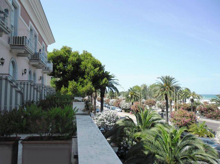 Vista dal nostro hotel Sea view