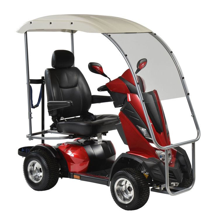 "Drive kingcobra422cs-pgv King Cobra Personal Golf Vehicle Executive Power Scooter, 4 Wheel, 22"" Captain Seat"