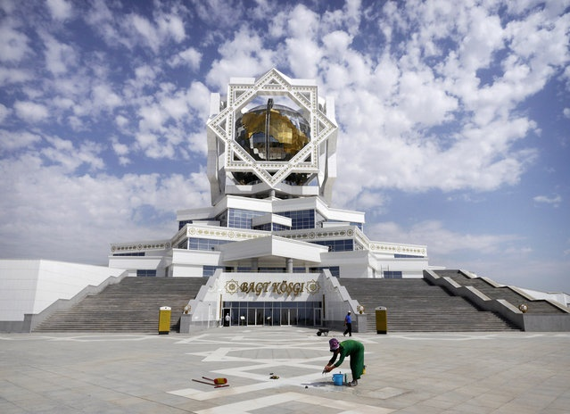 20 best places ashgabat turkmenistan images on pinterest the city of white marble ashgabat turkmenistan in focus the atlantic publicscrutiny Gallery