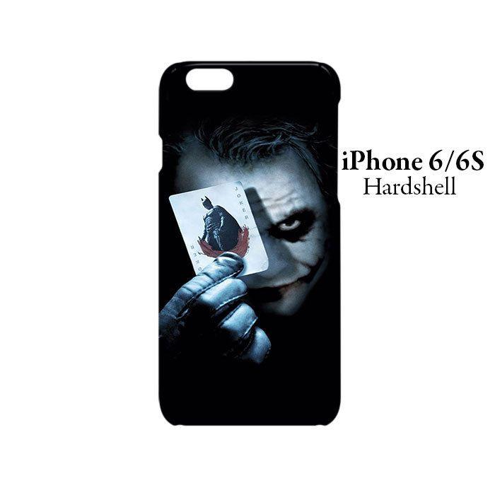 Batman Joker Card iPhone 6/6s Hardshell Case Cover