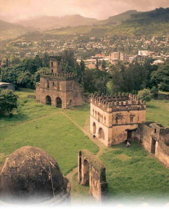 Gonder, Ethiopie.                                                                                                                                                      More