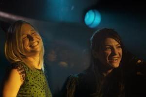 """Ellen Woglom and Genevieve Padalecki in """"Hated"""""""