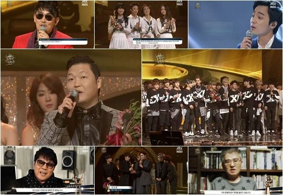 EXO and PSY Take Home Daesangs! Complete List of Winners of the 28th Golden Disk Awards