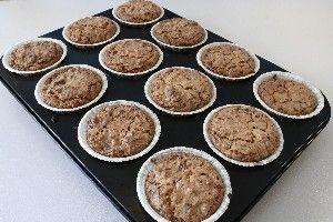 kokos muffins m. chokolade :)