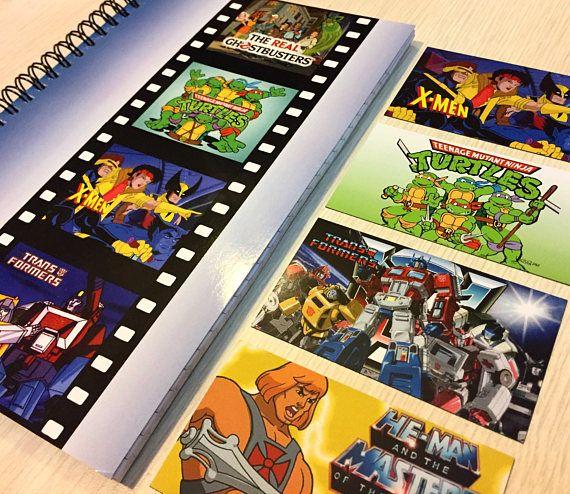 Saturday Morning Cartoons Notebook