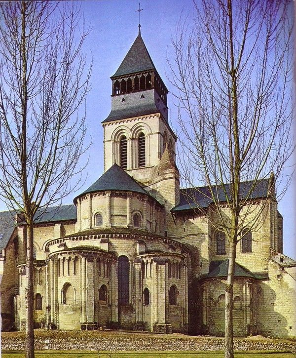 L'abbaye royale de Fontevrault (Maine-et-Loire)