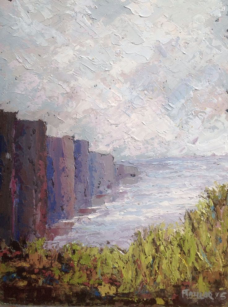 Cliffs of Moher. A H Taylor 2015