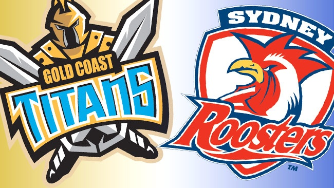 Gold Coast Titans vs Sydney Roosters