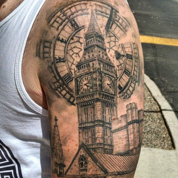 big ben tattoo designs - Szukaj w Google