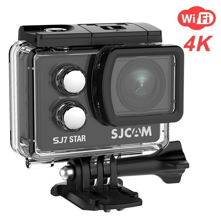 SJCAM SJ7 Star Wifi Action Camera, 4K30FPS Ambarella A12