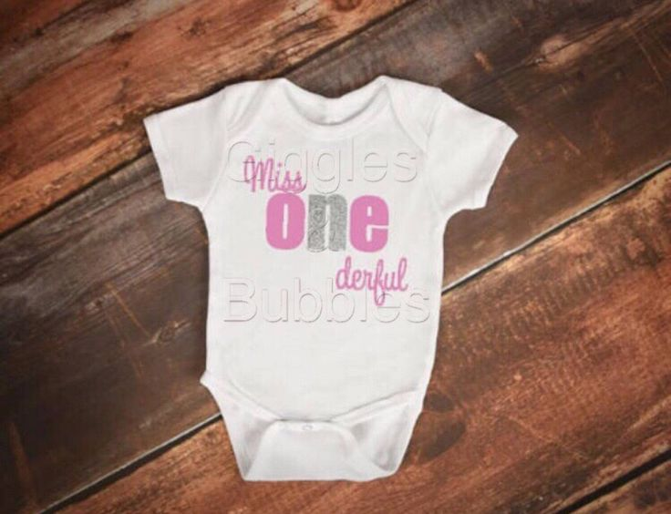 Little Miss One Derful onsie, First birthday, cake smash, bodysuit, photo prop, keepsake, wonderful bodysuit onsie by GigglesBubbles on Etsy https://www.etsy.com/au/listing/538914466/little-miss-one-derful-onsie-first