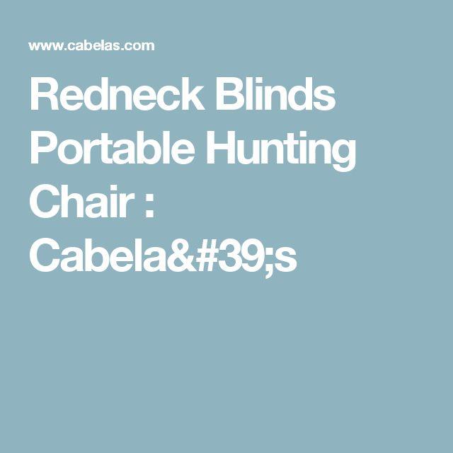 Redneck Blinds Portable Hunting Chair : Cabela's