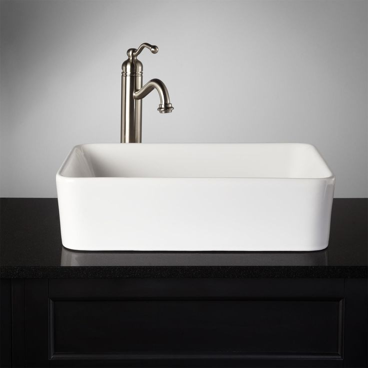 rectangular vessel bathroom sinks 25 best ideas about vessel sink bathroom on 20124