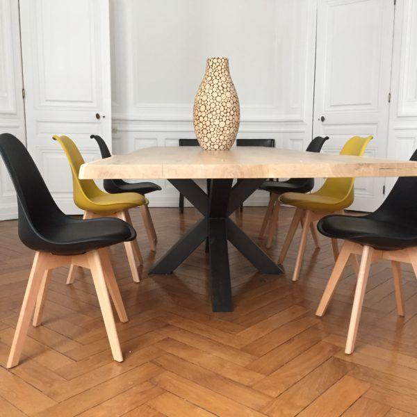 Table Et Chaises Scandinaves Lyon Table Et Chaise Scandinave Table Bois Inspiration Salle A Manger