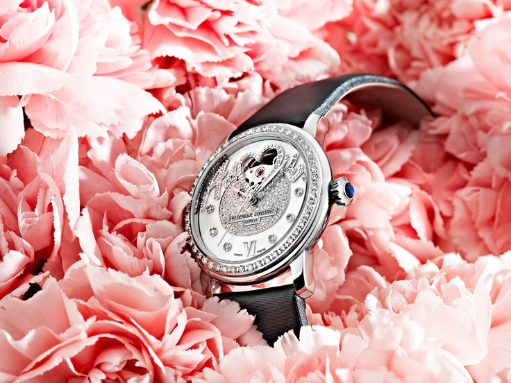 Ladies Automatic - Pavée Amour designed by Shu Qi - Stainless Steel