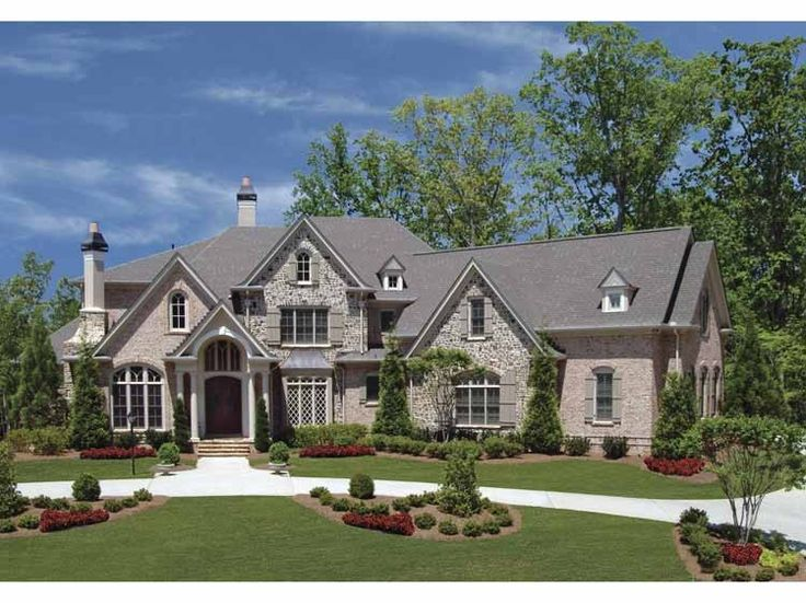 Best 25 4 bedroom house plans ideas on pinterest for French country elevations